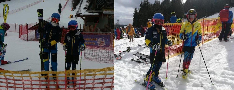 Erfolgreiche Schifahrer aus der 1a